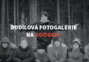 Oddílová fotogalerie na Google+
