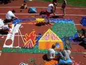 Stavba mozaiky