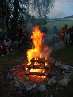 Táborový oheň